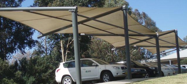 Polytex Shade Sails For Car Parking Parking Lot Outdoor Shade Carport Shade Pergola