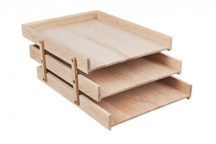 Table Of Contents Genius Storage Solutions Remodelista Office Accessories Desk Organizers Wood