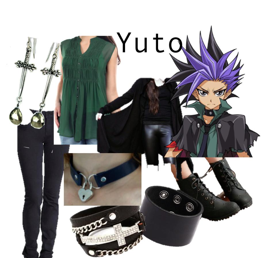 yugioh arc v yuya by violet moon anime casual cosplay