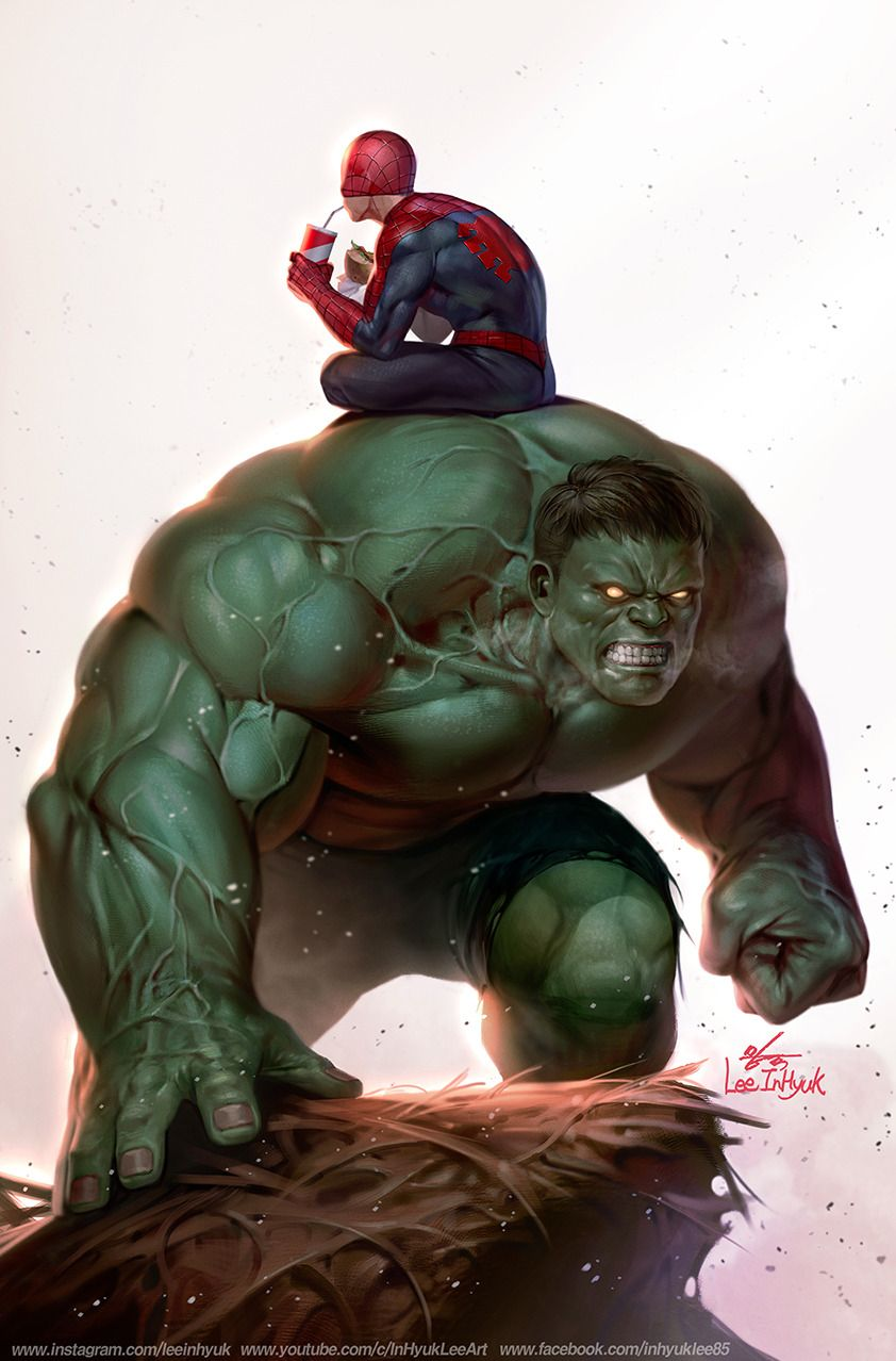 The Immortal Hulk 17 Spider Man By In Hyuk Lee Dibujos Marvel Arte De Marvel Arte Super Heroe