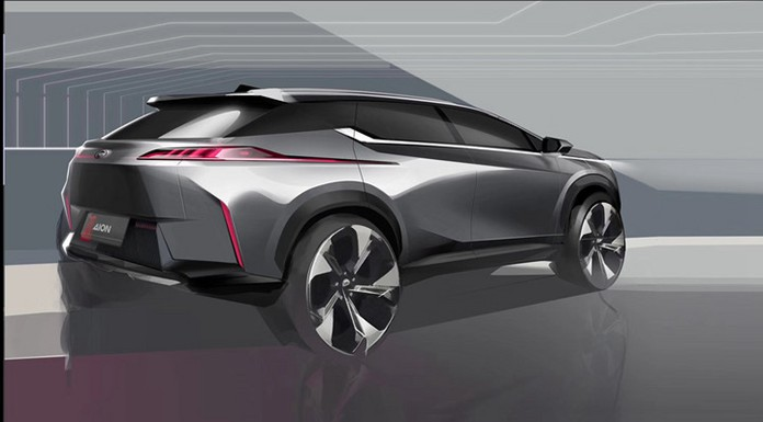 Gac Ne Debuted Official Image Of Aion V Chinapev Com In 2020 Best Luxury Cars Car Design Sketch Automotive Design