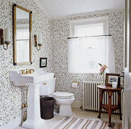 cute wallpaper bathroom
