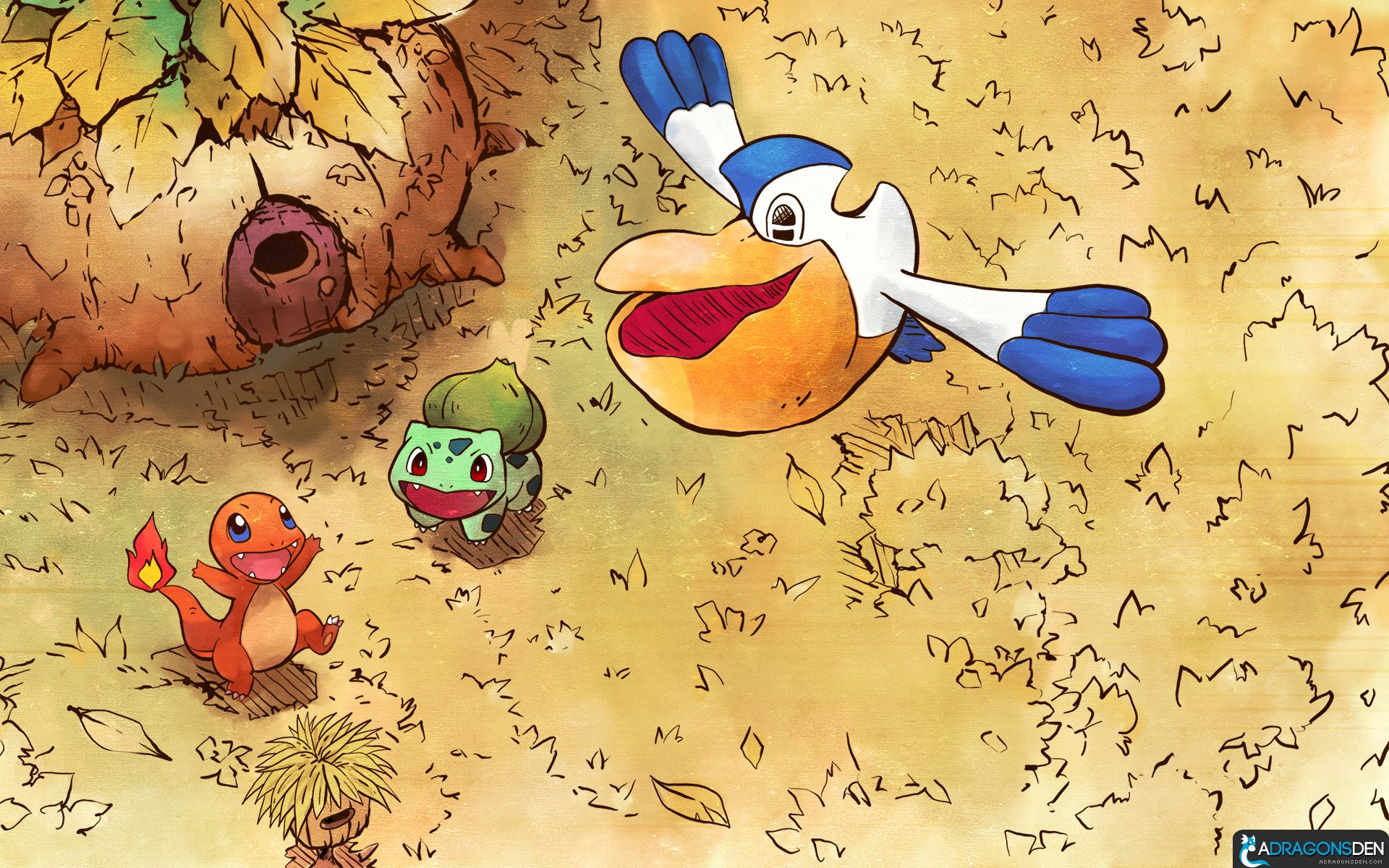 Pmd Wallpaper 2 By Lvstarlitsky On Deviantart Pokemon Wallpaper Pokemon Art