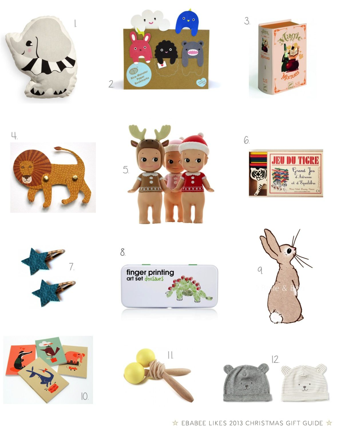 stocking fillers for babies and kids