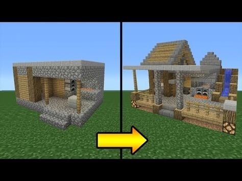 Minecraft Tutorial How To Transform A Villager Blacksmith - Minecraft hauser dorf