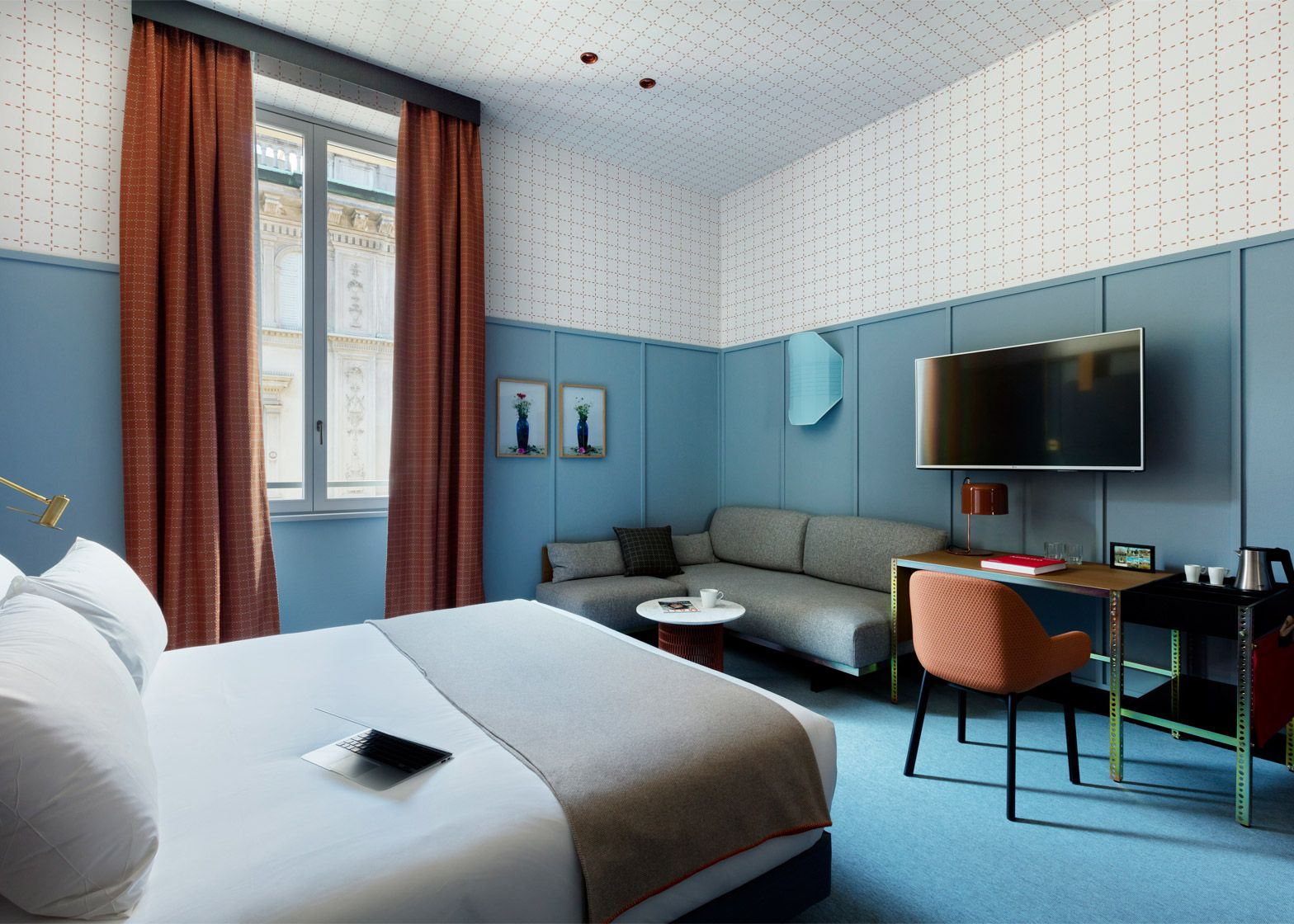 Patricia urquiola designs colourful milan outpost for room for Design hotel milano
