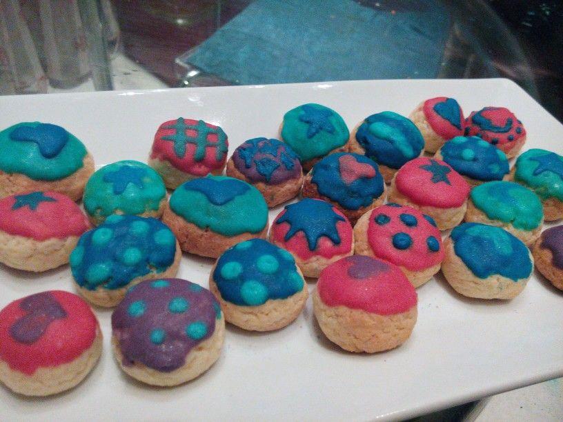 Mini biscottini decorati