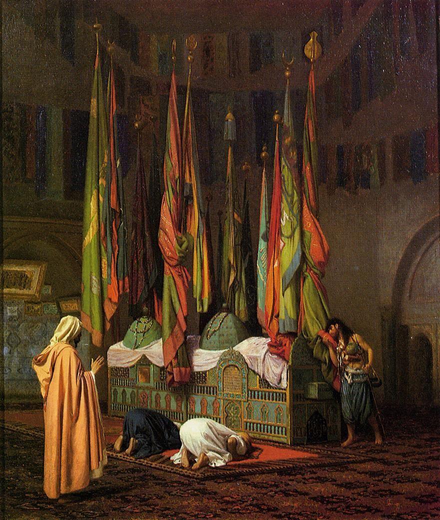The Shrine Of Imam Hussein Jean Leon Gerome Wikipaintings Org Kunst Gemälde Künstlerbedarf Orientalische Bilder