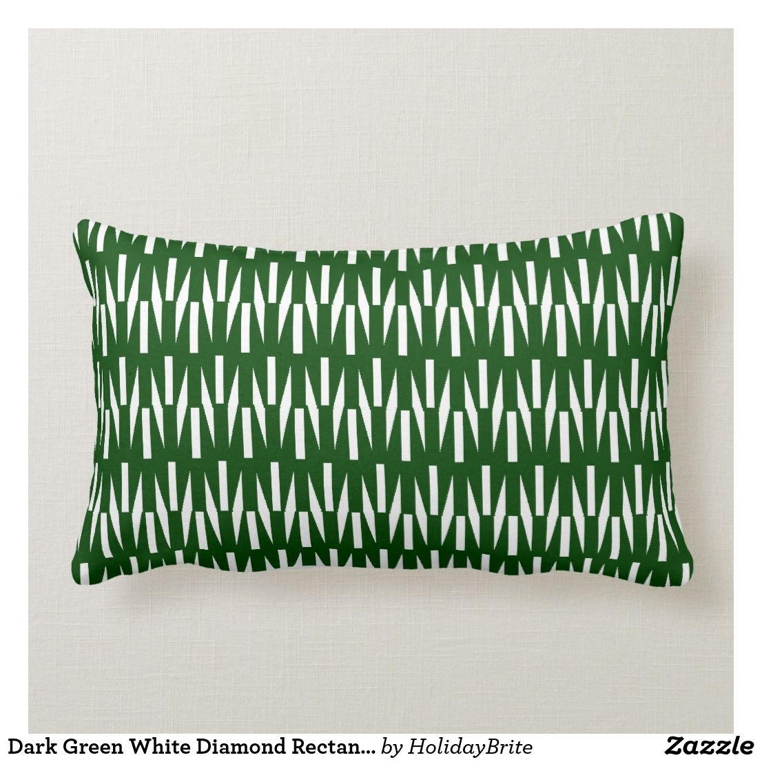 Rainbow Bug Acridid Pattern Lumbar Pillow