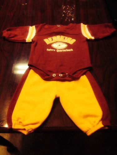 f219d428 Nfl Team Apparel Washington Redskins Baby Long Sleeve Onesie/W Pants ...