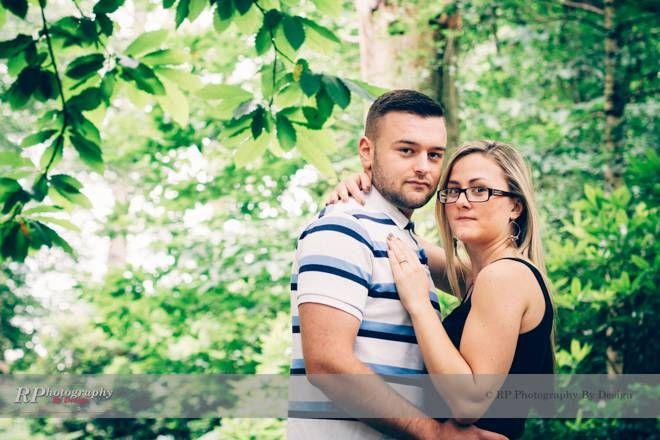 Sophie & Robert's Engagement Shoots Virginia Waters