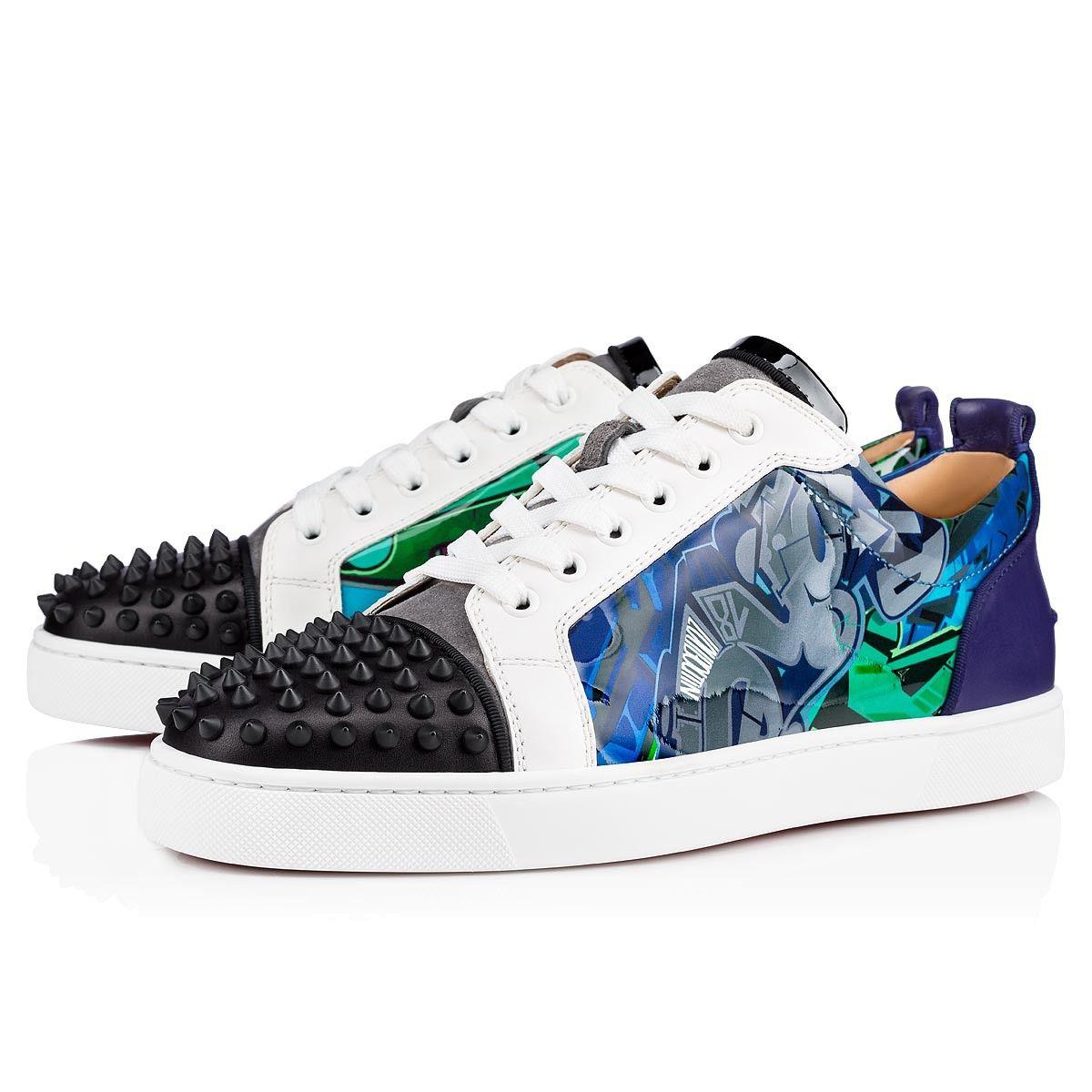 b9cdda129065 CHRISTIAN LOUBOUTIN Louis Junior Spikes Orlato Men s Flat.   christianlouboutin  shoes