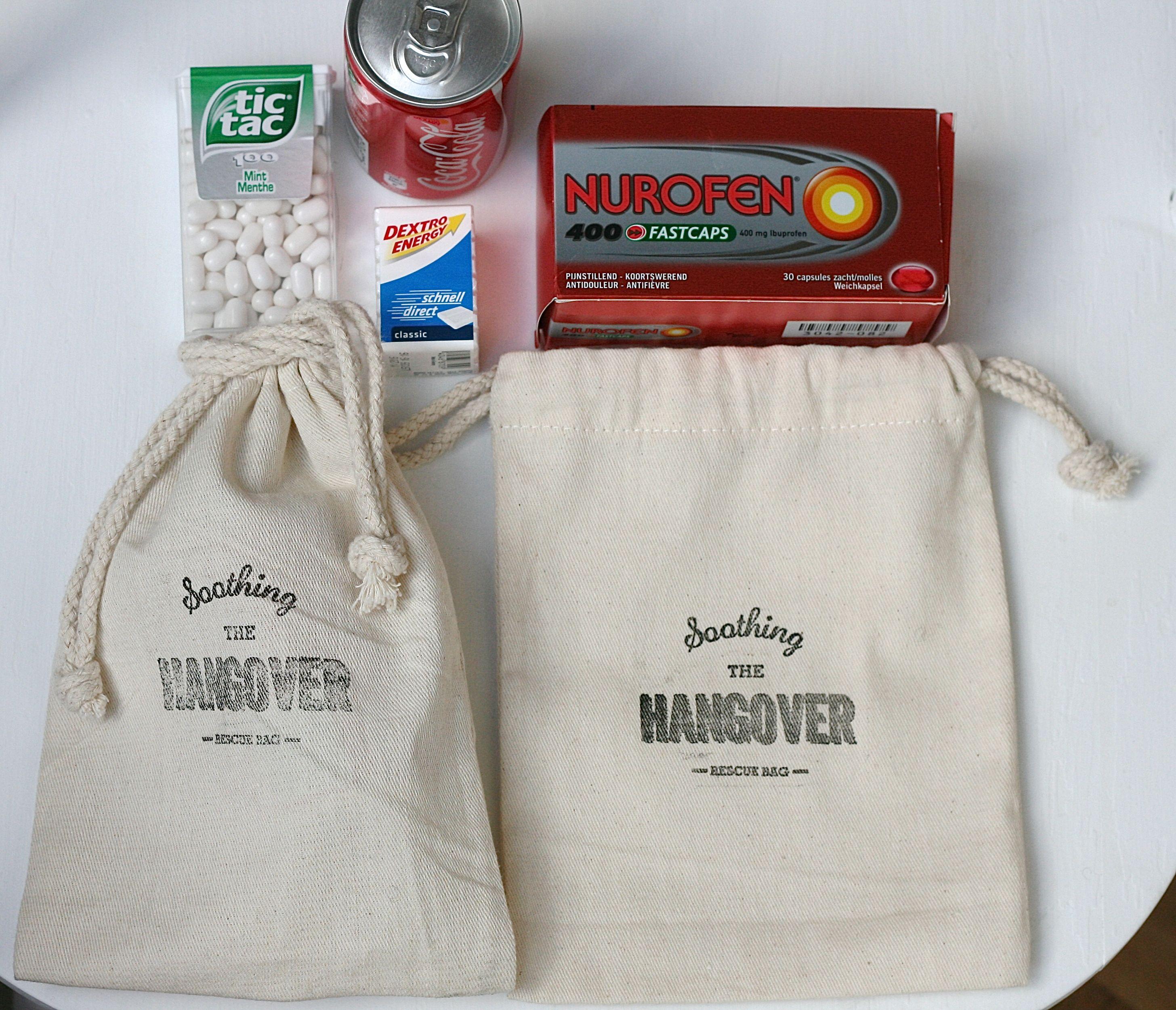Hangover kit -Bachelorette-wedding Favor bags www.uneLignealine.etsy ...