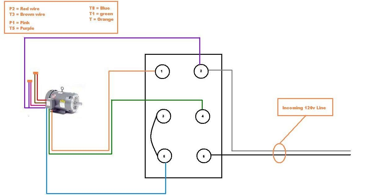 35 220v Single Phase Motor Wiring Diagram In 2020 Diagram Wire Electrical Motor