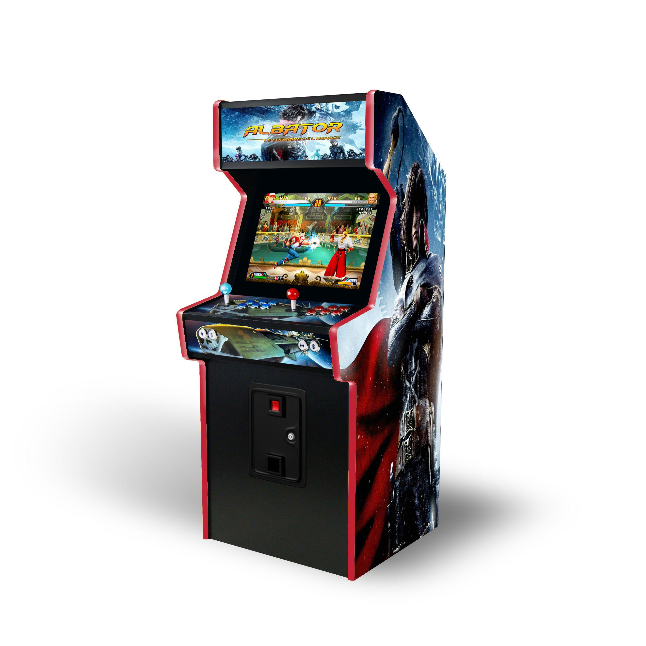 borne arcade 1980
