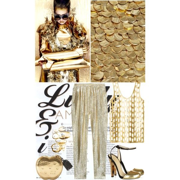 Outfit Gold Digger. STELLA McCARTNEY, women's clothing, women's fashion, women, female, woman, misses and juniors