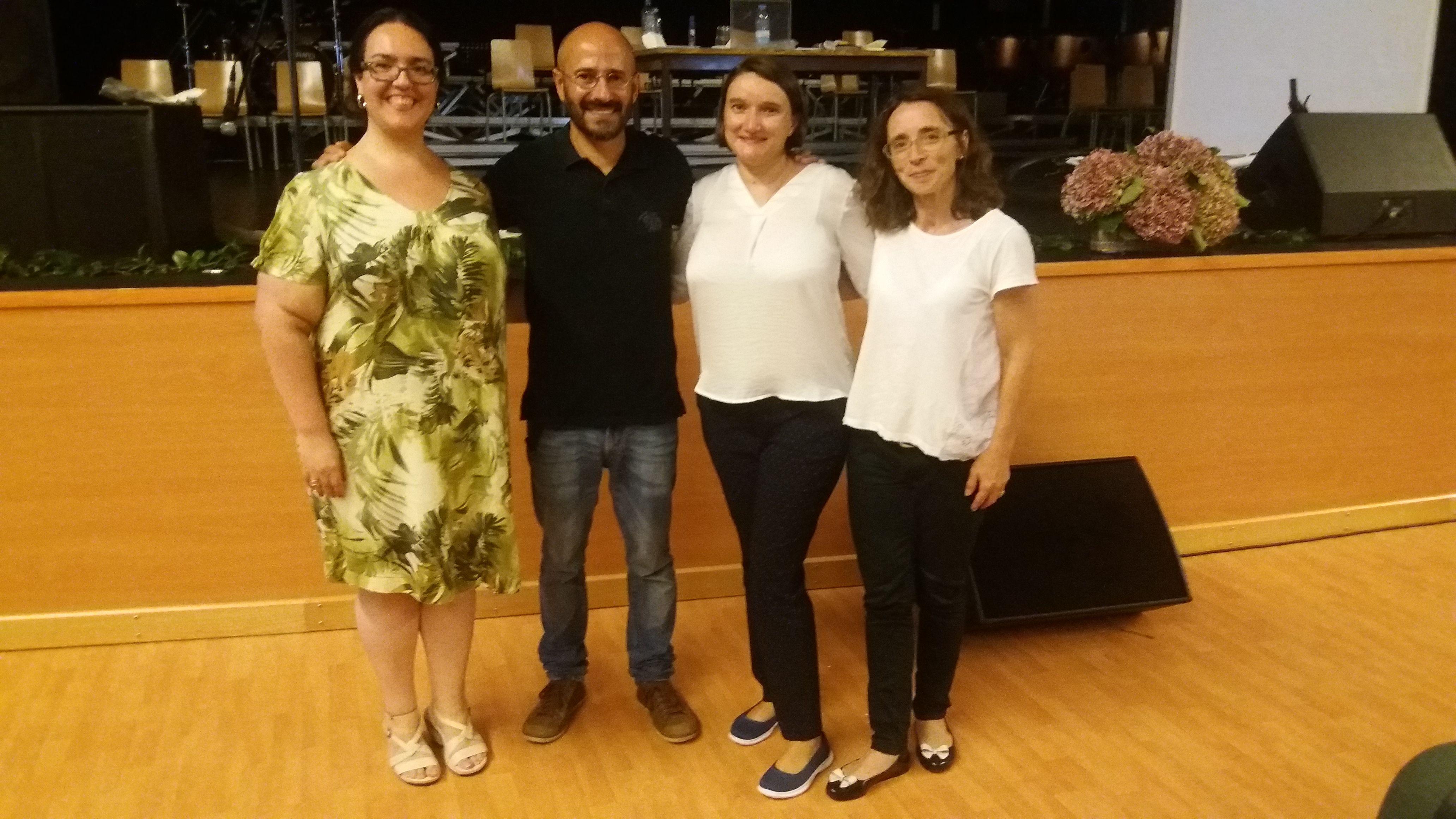 Encontro REDA com o matemático Rogério Martins, no auditório da Escola Secundária Domingos Rebelo, a 29 de setembro de 2017.