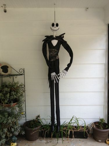 Jack Skellington 6ft Tall hanging decoration Nightmare Before
