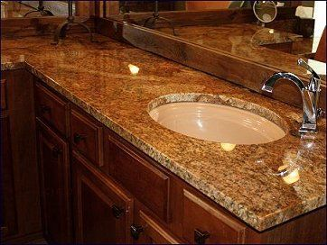 Copper canyon granite dream bathroom pinterest Copper countertops cost