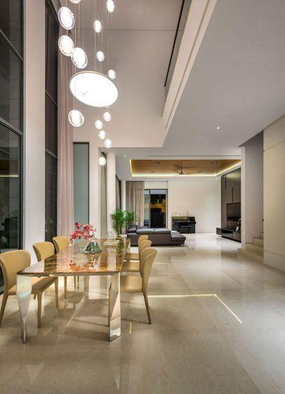 Diseño casa moderna tres pisos | Proyectos que intentar | Salas y ...