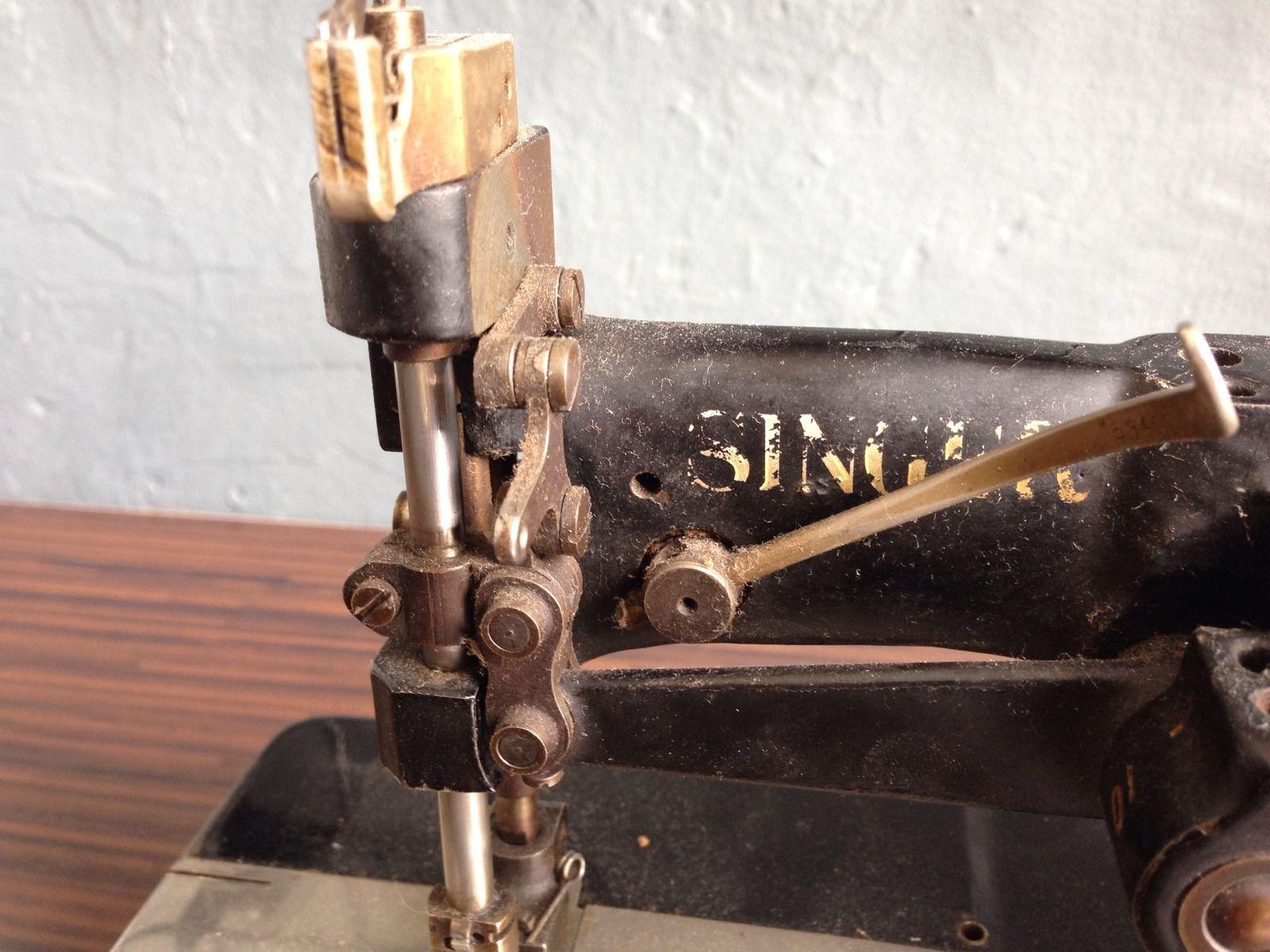 2 Needle Singer 105-20 Nähmaschine Industrienähmaschine | eBay