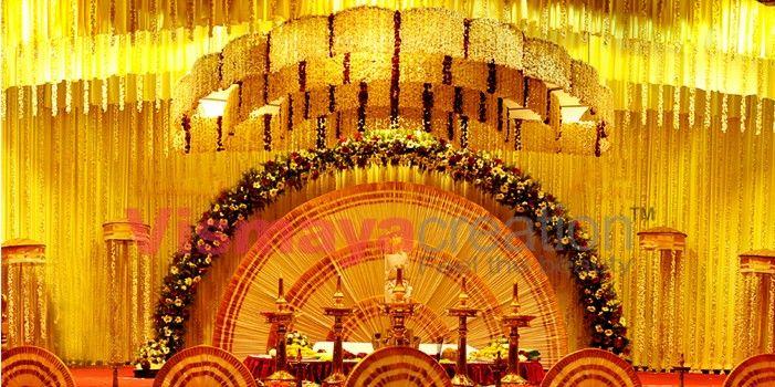 Kerala Hindu Wedding Stages