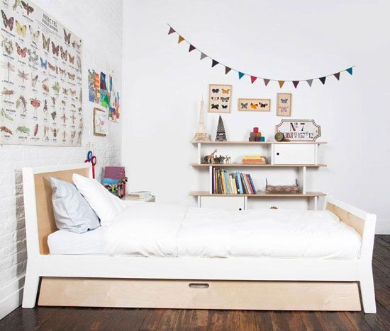 Oeuf Sparrow Trundle Bed Eco Friendly And Space Saver Betten