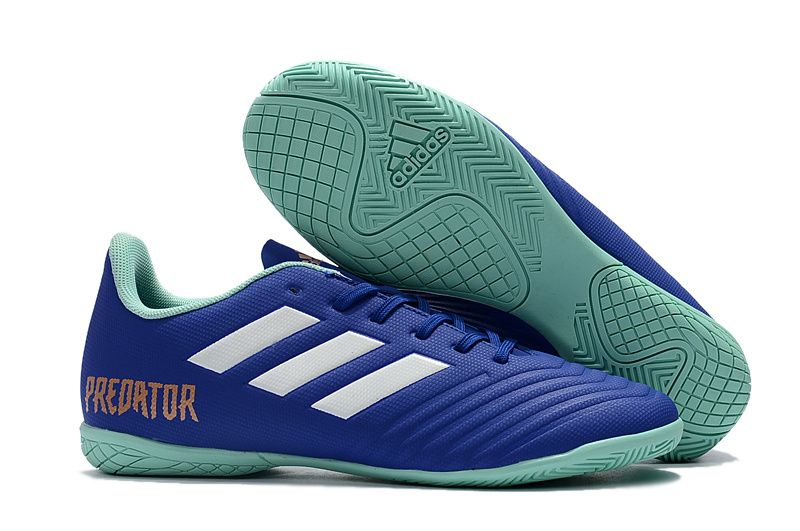 4a5c2be23 Cheap Adidas Predator Tango 18.4 IN Football Boots Blue Green ...