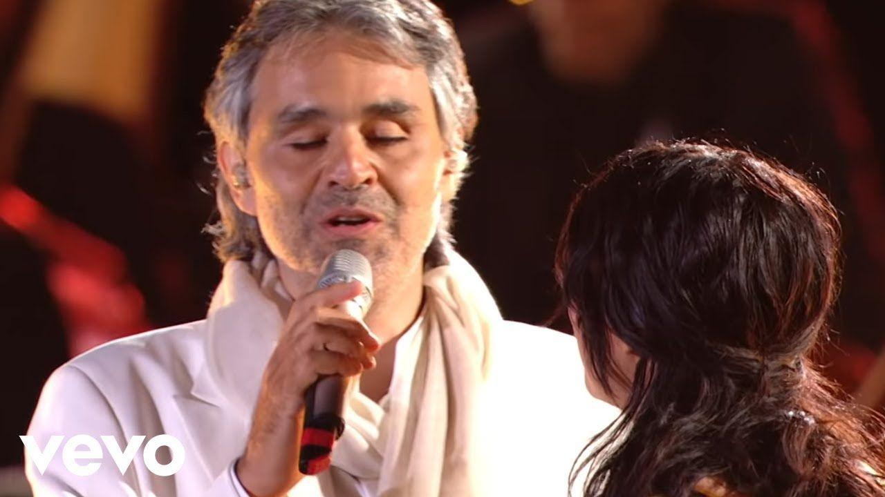 Andrea Bocelli Laura Pausini Dare To Live Hd Ft Laura