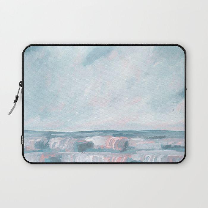 Stormy Sea Seascape Laptop Sleeve