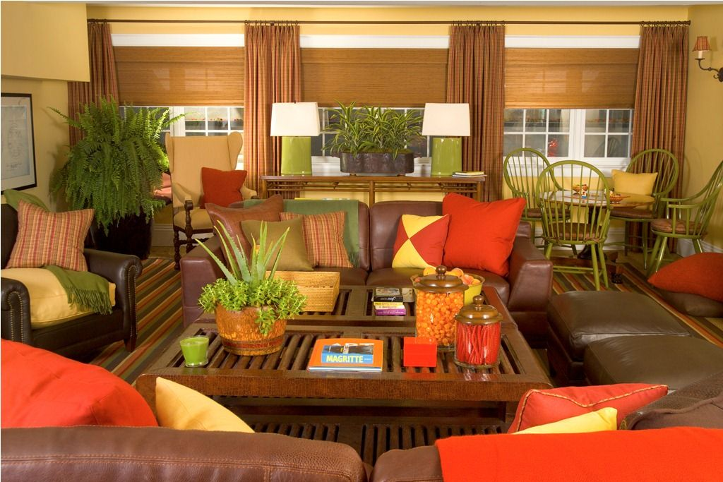 10+ Most Popular Red And Green Living Room