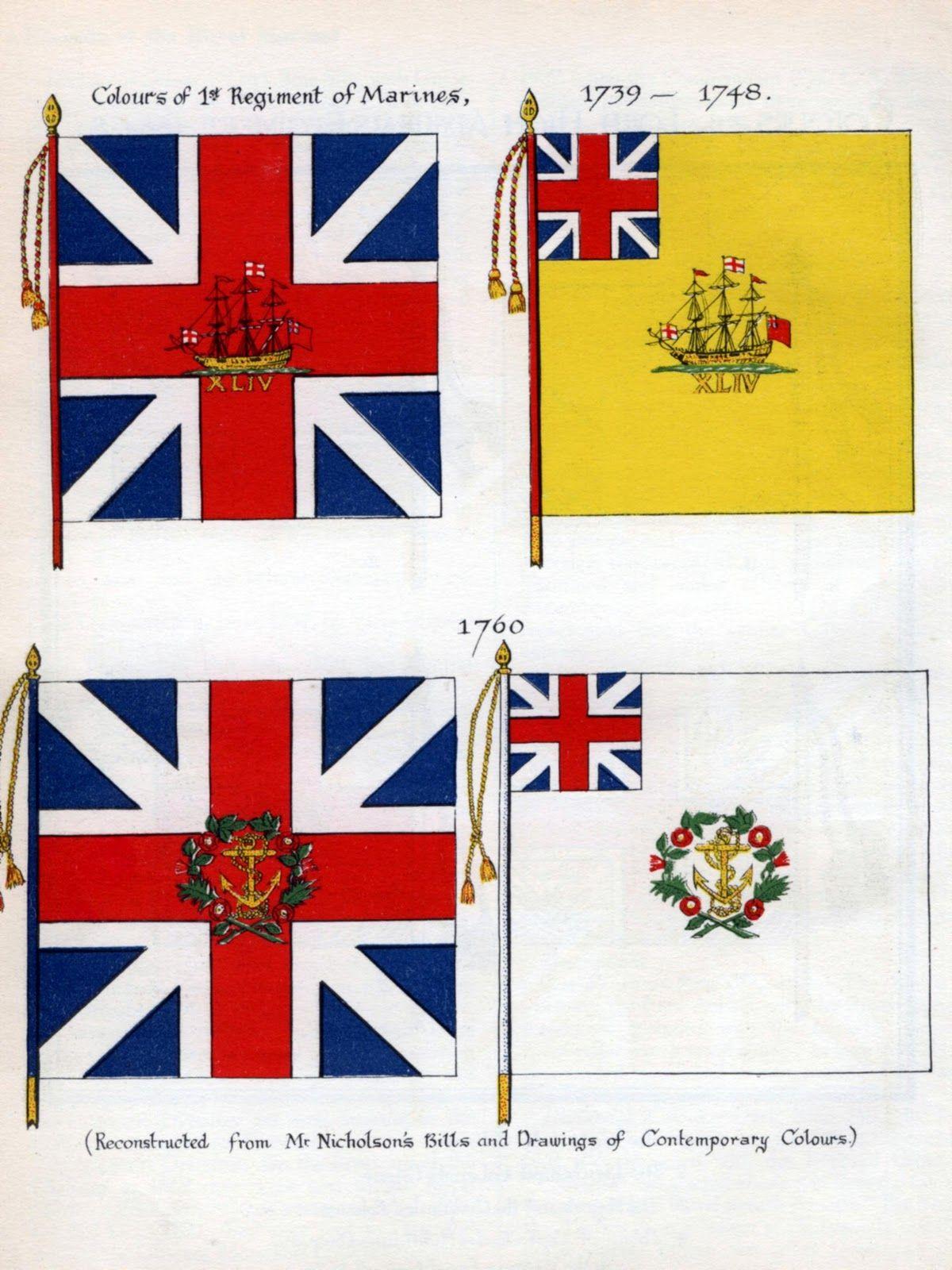 Royal Marines Flag Napoleonic Wars Marine Flag Royal Marines Military Flag