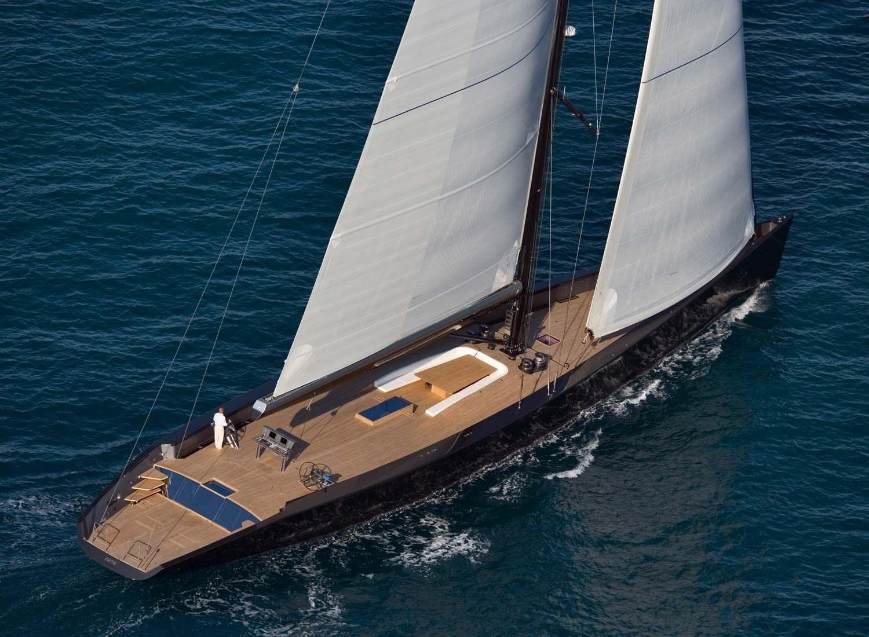 Fast Cruising Sailing Super Yacht Deck Saloon ESENSE Wally