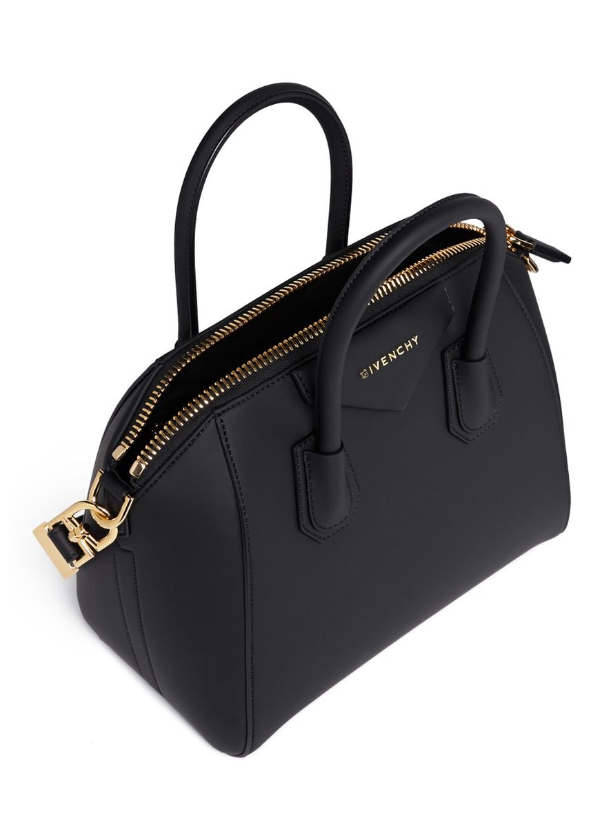 65438ef466c4 givenchy-black-antigona-small-rubberised-pvc-bag