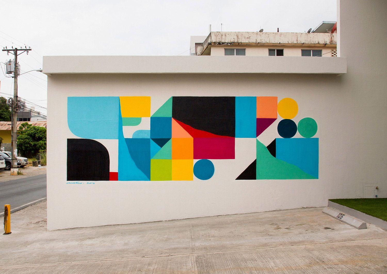 Artist Spotlight Nelio Abstract Artists Street Art Artists Mural Art