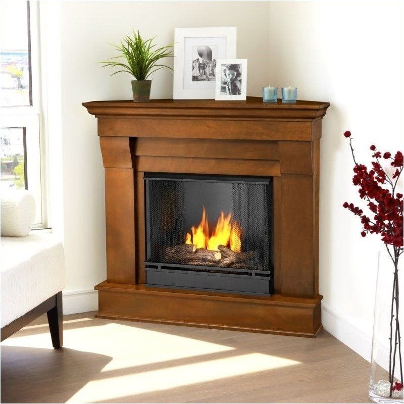 19+ Best Corner Fireplace Ideas For Your Home | Fireplace design ...