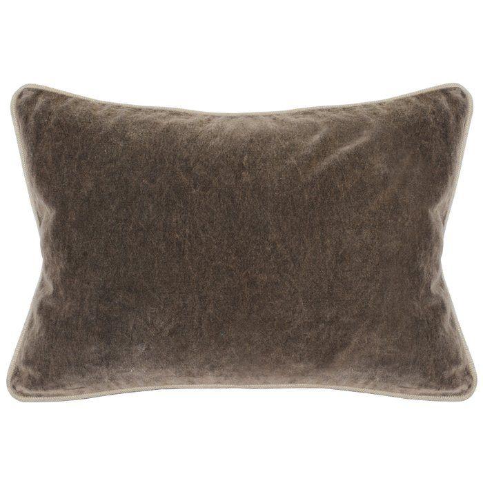 Vedika Cotton Throw Pillow Throw Pillows Brown Throw