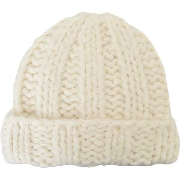 083854e8bb2 Acne Studios Jewel H Alpaca beanie ( 63) ❤ liked on Polyvore featuring  accessories