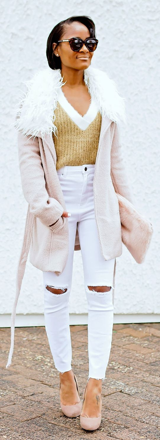 Blushing Transitional Inspiration Outfit by The Daileigh