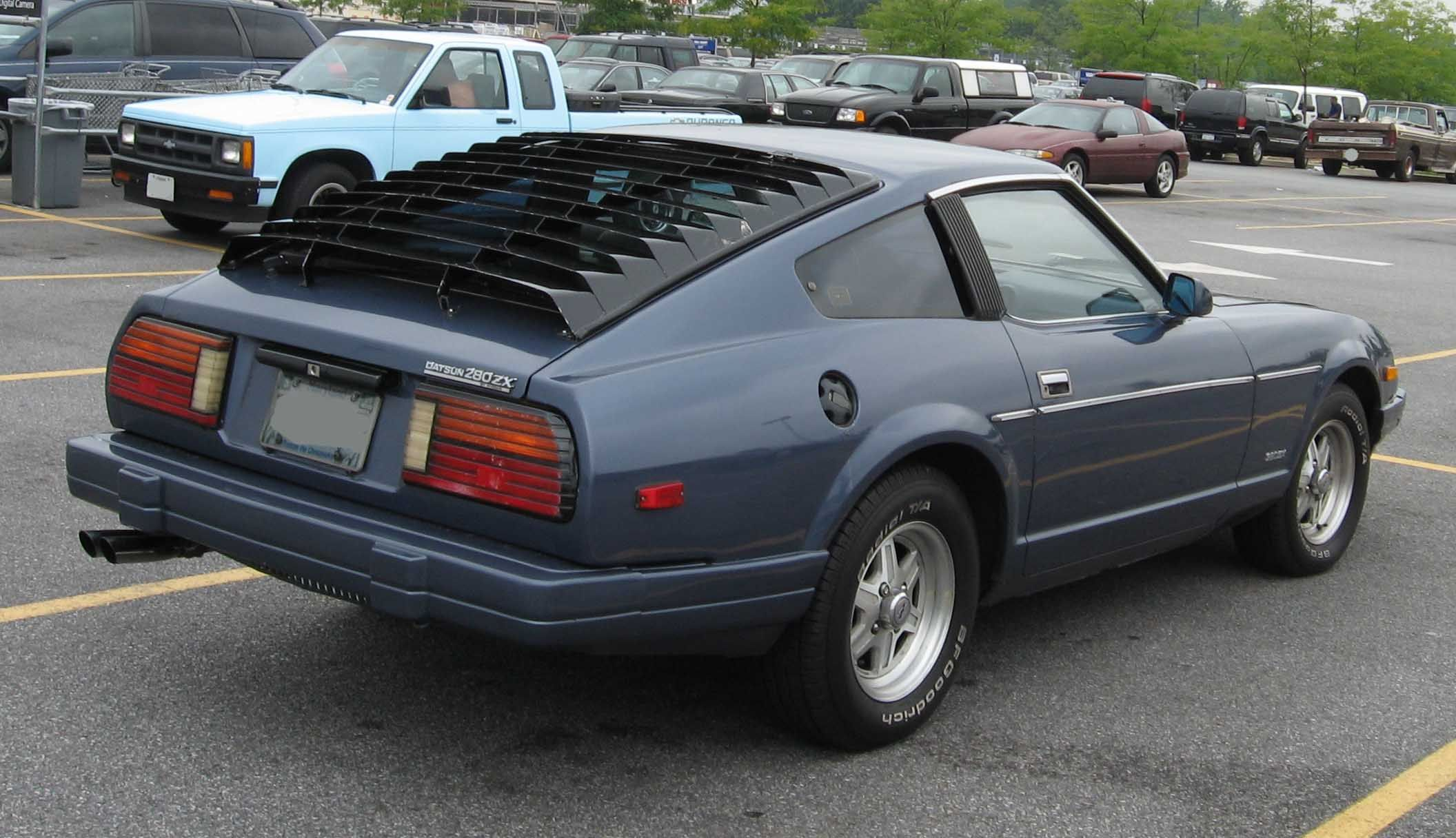 1983 datsun 280zx mine was burgundy classic cars pinterest cars