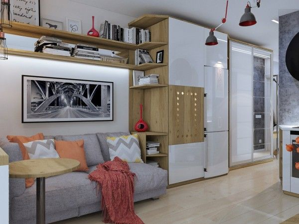 4 idées pour aménager un petit appartement de 30m2 Mezzanine