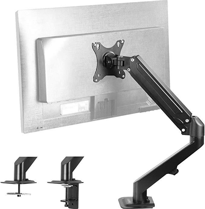 Amazon Com Vivo Single Lcd Monitor Desk Mount Stand Fully
