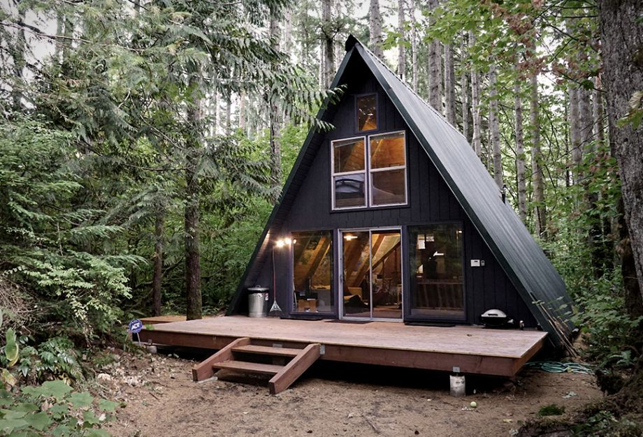 Tye Haus A-Frame Cabin, A Beautiful Forest Hideaway In The