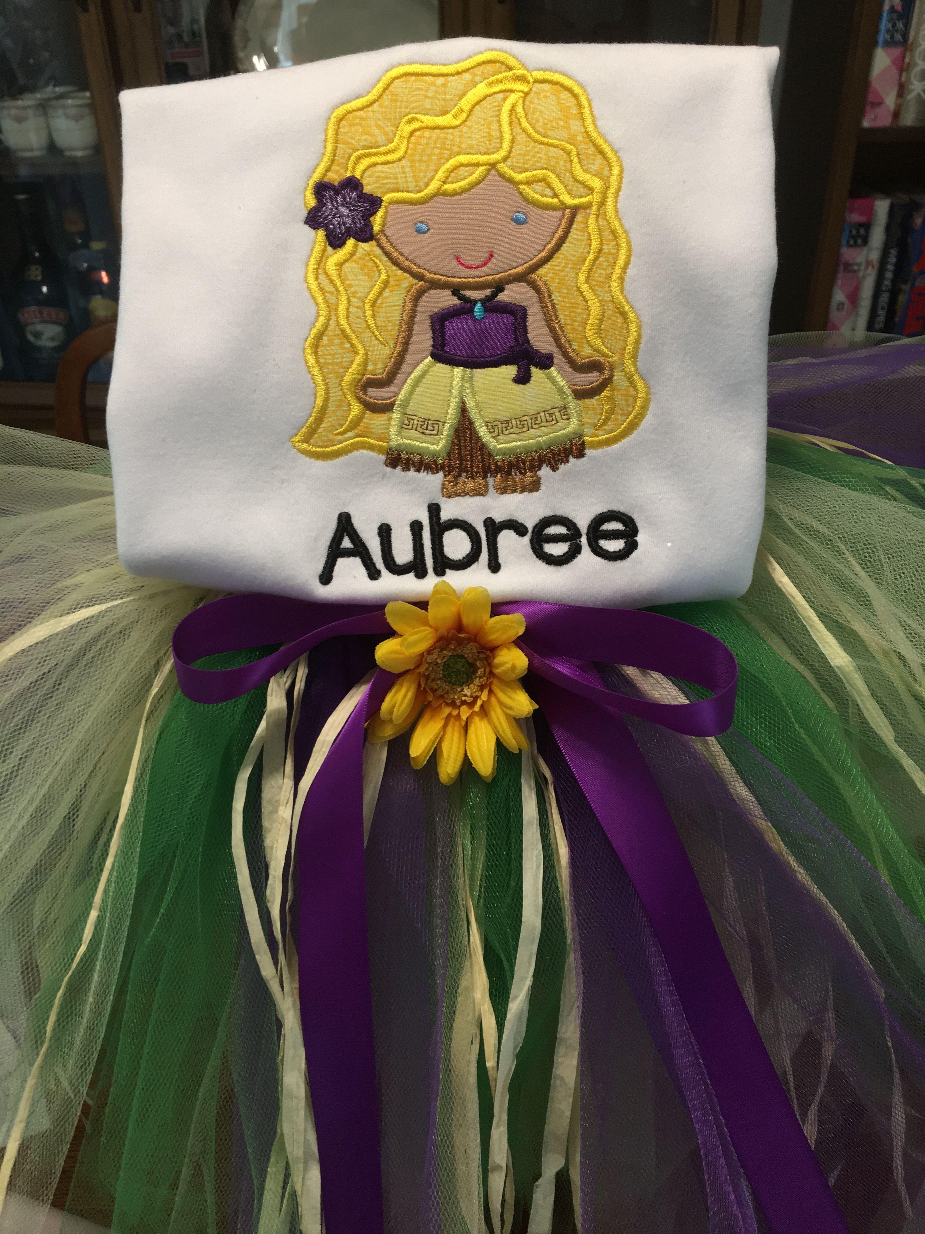 Polynesian Girl Hawaiian Luau Birthday Tutu www etsy com/shop