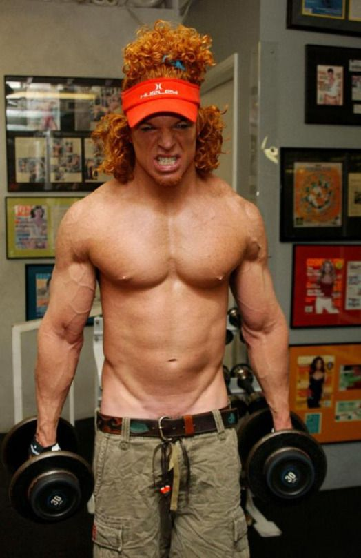 Carrot Top Nice Bod Men Of Movies And Tv Bodybuilding Humor