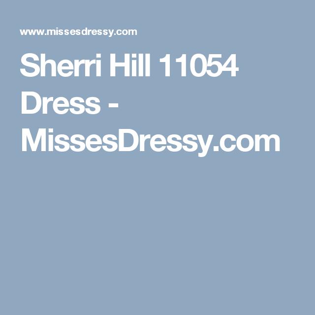 Sherri Hill 11054 Dress - MissesDressy.com