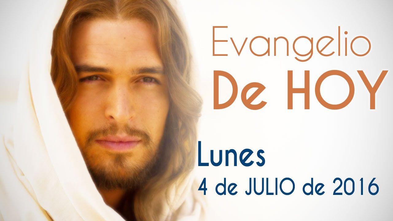 EVANGELIO DE HOY LUNES 4 DE JULIO 2016 Jesús resucita a la hija de Jairo y cura a  mujer por su fe - YouTube