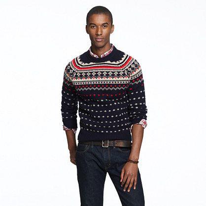 Lambswool Seaspey Fair Isle sweater, I missed out on it last year ...