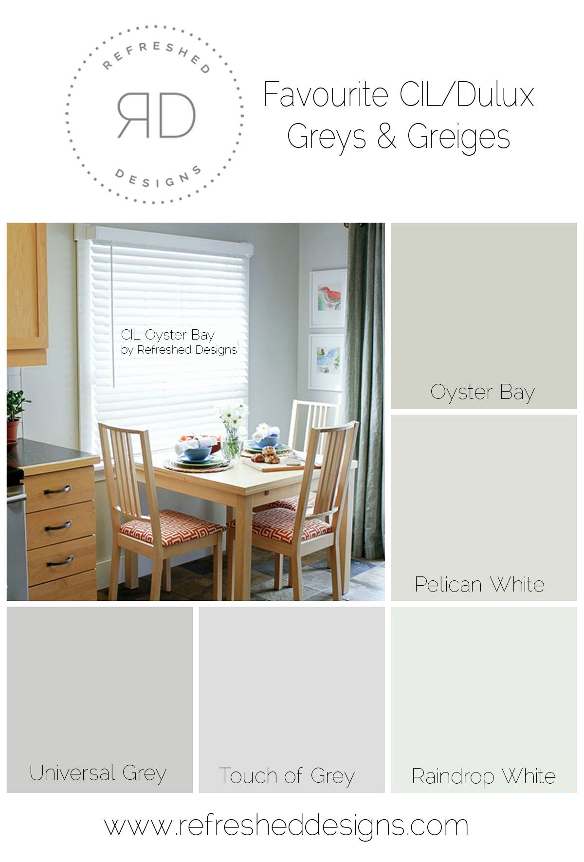 Greige Color Palette