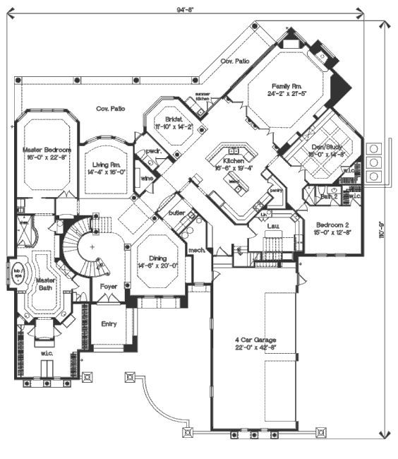 6 Bedroom House Plans house plans 6 bedrooms 17 Best Images About Ideal Floor Plans On Pinterest Monster House Full Bath And Luxury Home
